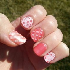 Spring colors! #jamberrynails #igetpaidtohaveprettynails #picnicpartyjn #grapefruitjn
