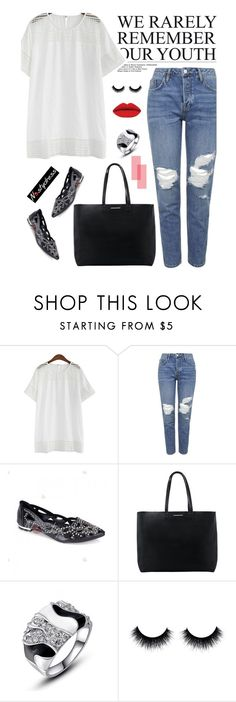 """""""Nastydress 40/1"""" by merima-kopic ❤ liked on Polyvore featuring Topshop, MANGO and nastydress"""