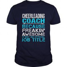 CHEERLEADING COACH T Shirts, Hoodies. Get it here ==► https://www.sunfrog.com/LifeStyle/CHEERLEADING-COACH-110429637-Navy-Blue-Guys.html?41382 $21.99