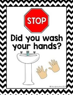 Print this handwashing bathroom poster in your classroom to remind kids to wash their hands! School Nurse Office, Hand Washing Poster, Bathroom Posters, School Health, Hand Hygiene, Bullet Journal, Classroom Management, Preschool Activities, Poster Ideas