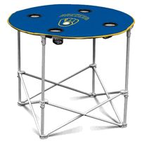 MLB Milwaukee Brewers Round Folding Table $40