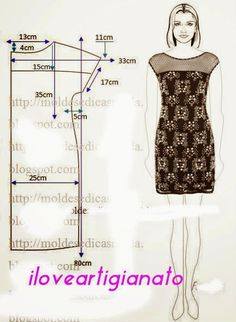 Outstanding 100 sewing hacks tips are offered on our site. Check it out and you wont be sorry you did. Dress Sewing Tutorials, Dress Sewing Patterns, Sewing Patterns Free, Sewing Hacks, Clothing Patterns, Sewing Tips, Sewing Projects, Sewing Ideas, Fashion Sewing