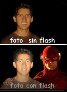 #FotoConFlash #FotoSinFlash #Flash #Foto #Humor