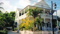 One of the many homes in the Florida Keys Key West
