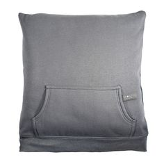Repurpose your old sweatshirt to make a hoodie pillow