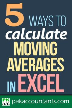 Calculate Moving Average in Excel Awesome tutorial on moving averages that help in time series analysis. We explored 5 techniques. Free Excel tutorials, tips and tricks   Awesome templates and practice workbooks   Cheat sheets manuals and downloadables