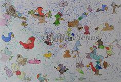 Fugle, hunde og kaniner