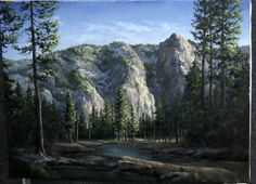 Do you enjoy hiking in the mountains? Watch Kevin paint this scenic mountain view from Yosemite! Sign up for the free newsletter at www.paintwithkevin.com for information on new DVDs, brushes, and other events.