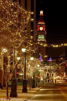 Christmas in Denver, Colorado - just beautiful!