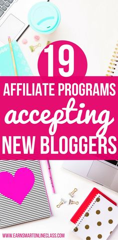 Are you a new blogger looking for affiliate programs to increase your income? Get your hands on these 19 affiliate programs perfect for bloggers. #blogging #bloggingtips #makemoneyblogging