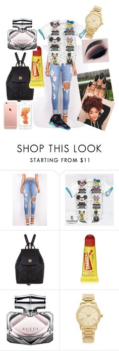 """#No Filter"" by savagelife01 on Polyvore featuring Retrò, MCM, Carmex, Gucci and Michael Kors"