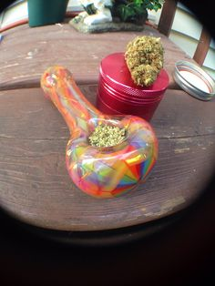 Pretty #glassbowl #marijuana