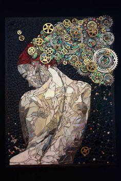 Posts à Beira Mar: Os magníficos mosaicos de Laura Harris