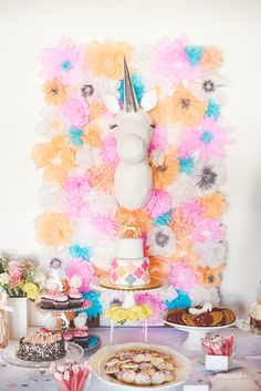 Magical Unicorn Baby Shower | Pink Martini Events | Pink Martini