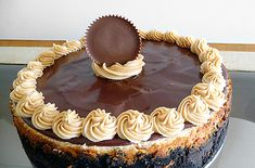 peanut butter cup cheesecake  A.M.A.Z.I.N.G.