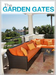 The Garden Gates carries beautiful home and garden furniture, decor and accents for stylish outdoor living