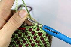 """The waistcoat stitch aka the knit stitches produces a very dense and firm texture that's also very attractive. It looks like it is knitted although is a crocheted stitch. Easy Tutorial: How To Do The Waistcoat Stitch AKA The """"Knit"""" Stitch by Nicki's Homemade Crafts will teach you how to crochet the waistcoat stitch in …"""