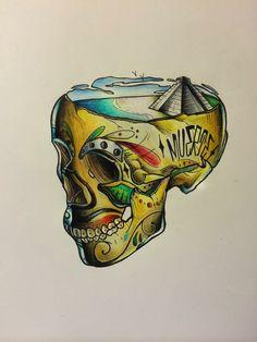 Calavera skull.