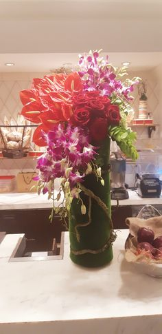 Resorts World Manila, Philippines, Vase, Floral, Home Decor, Decoration Home, Room Decor, Flowers, Vases