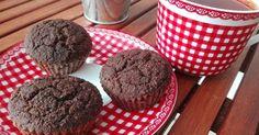 Karobos muffin (paleo, gluténemtes, tejmentes, cukormentes)