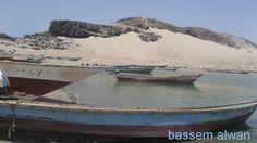 قرية فقم  قوارب الصيادين