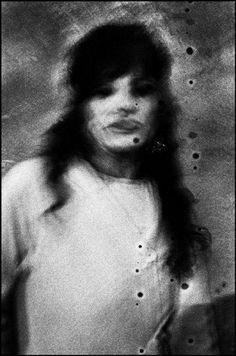 """Italy, Palermo, 1999 from """"Insomnia."""" Gelatin silver print, by Antoine D'Agata."""