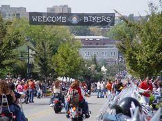 Fayetteville, Arkansas - Bikes, Blues and BBQ
