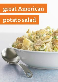 Great American Potato Salad — We the people love this recipe! For a great summer dinner, serve this with grilled chicken breasts and a fresh fruit salad.