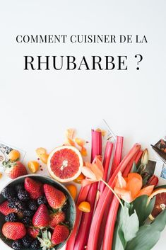 Comment préparer et cuisiner de la rhubarbe ? Nos recettes rapides et faciles à base de rhubarbe Grapefruit, Muffins, Good Food, Food And Drink, Veggies, Pie, Gluten Free, Couture, Crochet