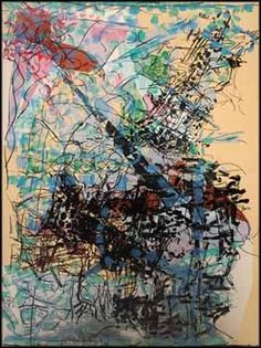 Clairière by Jean-Paul Riopelle Abstract Paintings, Abstract Art, Global Art, Art Market, Yorkie, Paint Colors, Study, Graphic Design, Surreal Art