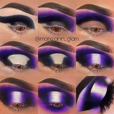 Makeup Eye Looks, Eye Makeup Steps, Beautiful Eye Makeup, Sexy Makeup, Kiss Makeup, Pretty Makeup, Eye Makeup Pictures, Makeup Face Charts, Face Paint Makeup