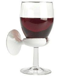 Wine-glass holder for in the tub. $7 This is a PRACTICAL gift for sure!!!