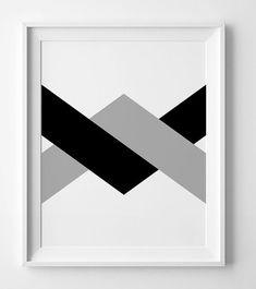 Black and white art chevron print minimalist printable art Geometric Wall Paint, Geometric Shapes Art, Abstract Geometric Art, Geometric Poster, Drip Painting, Oil Painting Abstract, Diy Canvas Art, Diy Wall Art, Silver Wall Art