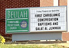 Chrislam Starts To Spread In America: The liberal 'love gospel' preachers having desires to fill their seats and bank accounts, have found a way to merge apostate christianity with the Devil's religion of Islam. That day is here.REV 3:14-16