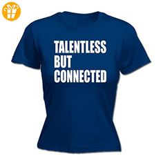 123t Slogans Damen T-Shirt, Slogan Gr. XX-Large, Blau - Navy - Shirts mit spruch (*Partner-Link)