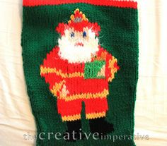The Creative Imperative: My Favorite Christmas Stocking Pattern