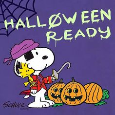 Who's ready for Halloween? Charlie Brown Halloween, Great Pumpkin Charlie Brown, Peanuts Halloween, Charlie Brown And Snoopy, Halloween Season, Fall Halloween, Happy Halloween, Halloween Countdown, Halloween Crafts