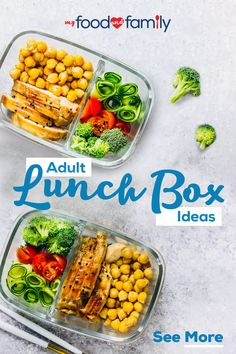 Let My Food & Family help you fulfill all of your adult lunch box ideas. We have tips and tricks to save money while making lunchtime delicious and nutritious. Tap the Pin to explore. Lunch Meal Prep, Healthy Meal Prep, Easy Healthy Recipes, Healthy Snacks, Healthy Eating, Lunch Time, Clean Eating, Lunch Snacks, Lunch Recipes