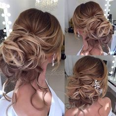 Elstile wedding hairstyles for long hair 48 - Deer Pearl Flowers / http://www.deerpearlflowers.com/wedding-hairstyle-inspiration/elstile-wedding-hairstyles-for-long-hair-48/