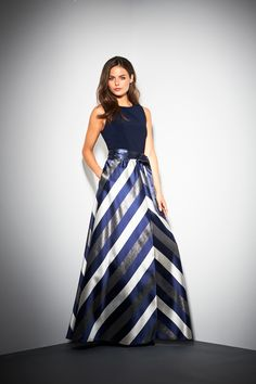 Michaela Satin Stripe Maxi Dress Striped Maxi Dresses, Satin, Skirts, Winter 2017, Autumn, Fashion, Party Dresses, Moda, Skirt