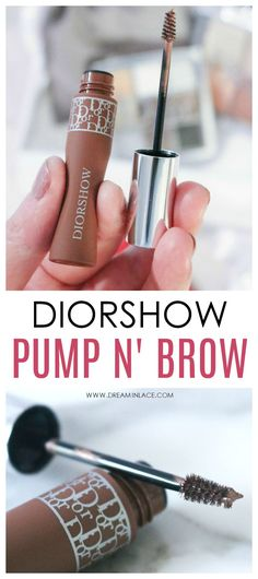 One-Step Brows with Dior Pump n Brow Mascara – Diybeauty Brow Mascara, Mascara Tips, Makeup Blog, Makeup Geek, Makeup Ideas, Makeup Tutorials, Makeup Tips, Dior Makeup, Eye Makeup