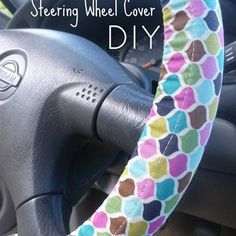Abernathy Crafts: Steering wheel cover DIY