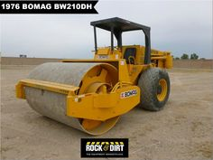#ThrowbackThursday Check out this 1976 #Bomag BW210DH #Compactor! View more Compaction Equipment at http://www.rockanddirt.com/equipment-for-sale/compaction-equipment #ConstructionEquipment #Construction #HeavyEquipment #RockandDirt