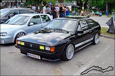 Black VW Scirocco by retromotoring, via Flickr