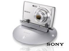 Cámara Digital Sony 12.1 MPX con Base Robótica Sony Party-Shot