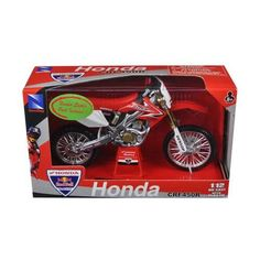 2008 Honda CRF450R Red Bull Racing Dirt Motorcycle 1/12 by New Ray