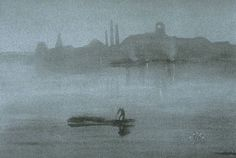 File:James McNeill Whistler, Nocturne, 1878, lithotint with scraping on a prepared half-tint ground printed on blue-grey paper.jpg