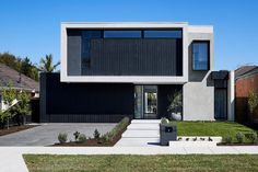 Thomas Archer designs and builds uniquely Australian architecture. View our gallery of renowned home architecture projects we have undertaken. Duplex Design, Townhouse Designs, Australian Architecture, Modern Architecture, Architect House, Facade House, House Exteriors, Modern Exterior, Architectural Elements