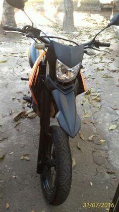 Yamaha Xtz Motard Lander 250x Ou Troco CB300