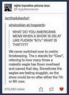 Television. So confusing